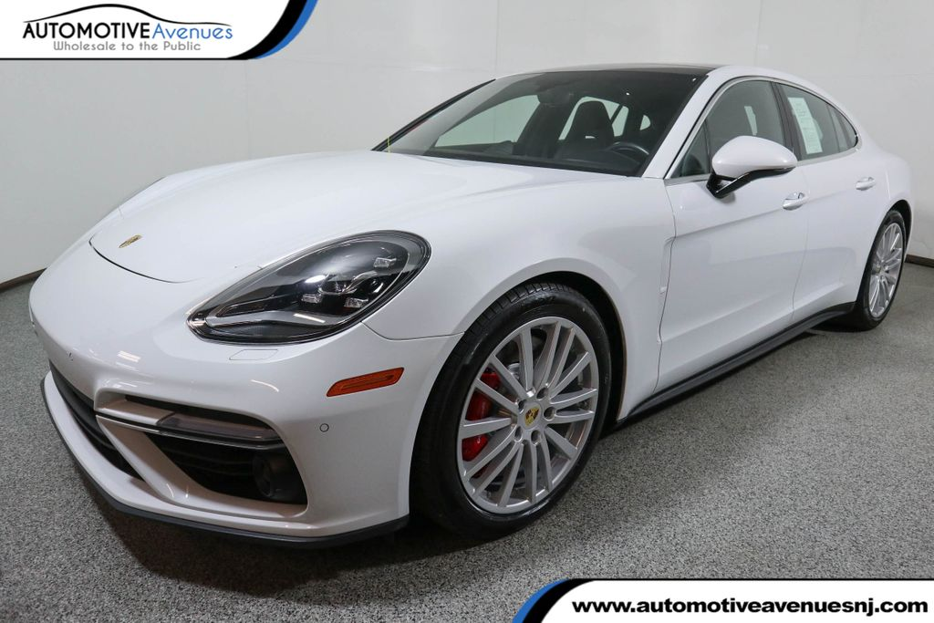 Pre-Owned 2017 Porsche Panamera Turbo AWD