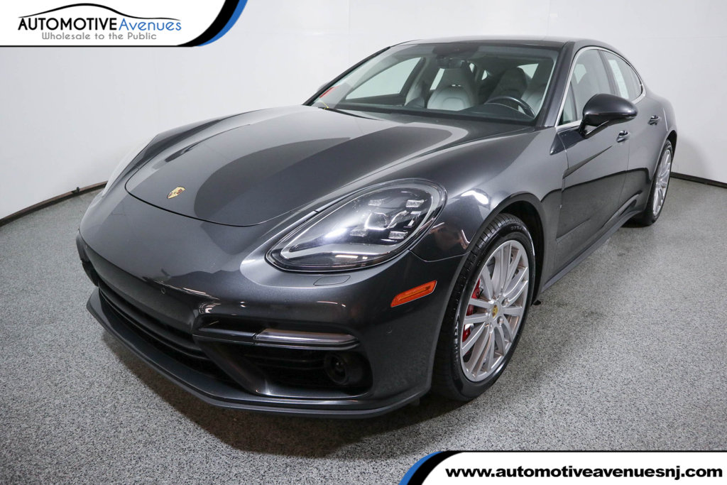 Pre-Owned 2017 Porsche Panamera Turbo AWD with Adaptive Crusie Control w/ Porsche Active Safe