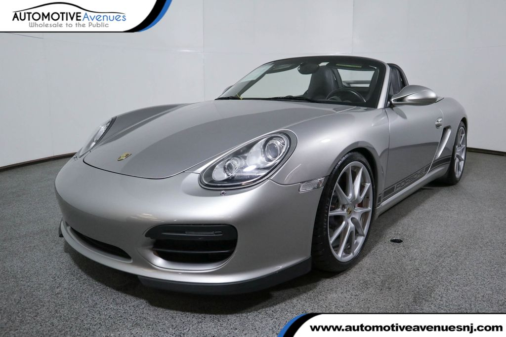 Pre-Owned 2011 Porsche Boxster 2dr Roadster Spyder