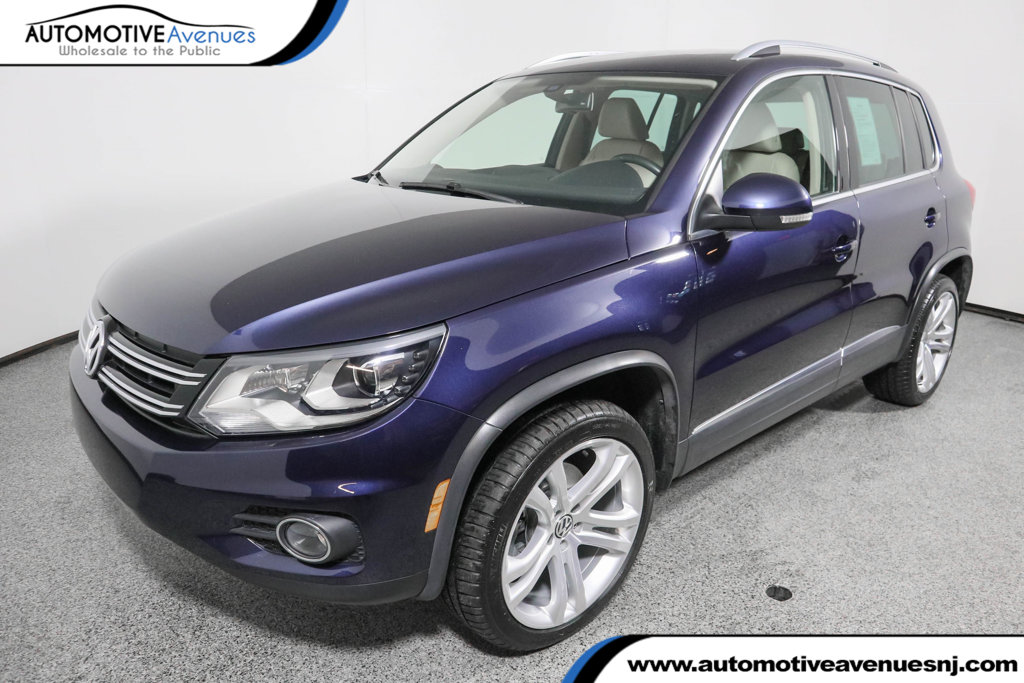 Pre-Owned 2016 Volkswagen Tiguan 2.0T SEL 4dr Automatic