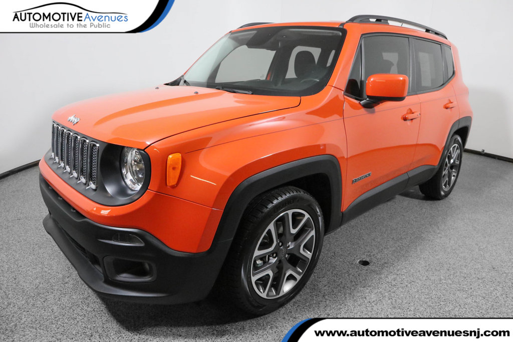Pre Owned 2017 Jeep Renegade Laude Fwd