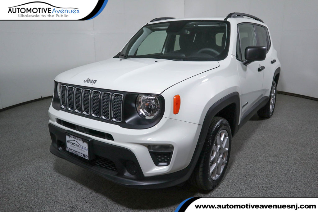 Pre-Owned 2019 Jeep Renegade Sport 4x4 w/ MY SKY Power/Removable Sunroof