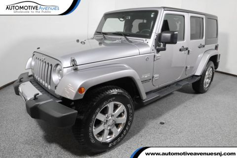 2015 Jeep Wrangler Unlimited 4WD 4dr Sahara Four Wheel Drive SUV