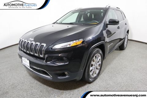 Pre-Owned 2016 Jeep Cherokee 4WD Limited with Luxury Group, Navigation, & Panoramic Sunroof