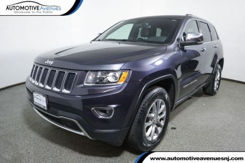 Pre-Owned 2016 Jeep Grand Cherokee 4WD 4dr Limited with Power Sunroof & Navigation