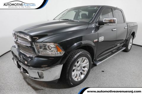 "Pre-Owned 2016 Ram 1500 4WD Crew Cab 140.5"" Longhorn with Ram Box and Sunroof"