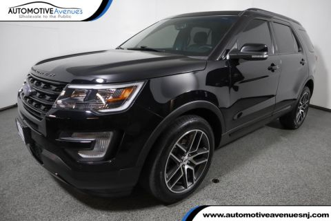 Pre-Owned 2016 Ford Explorer 4WD 4dr Sport w/ Equipment Group 401A and Twin Panel Sunroof