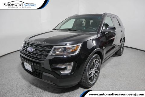 Pre-Owned 2016 Ford Explorer 4WD 4dr Sport with Navigation & Blind Spot Monitor