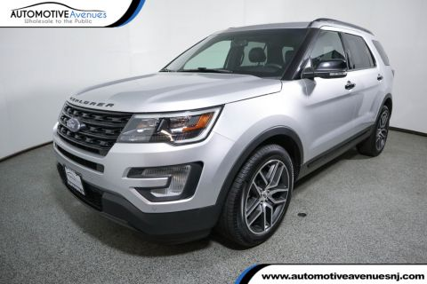 Pre-Owned 2017 Ford Explorer Sport 4WD