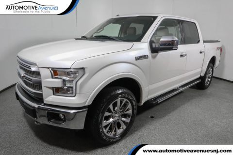 "Pre-Owned 2016 Ford F-150 4WD SuperCrew 145"" Lariat with Equipment Group 502A"