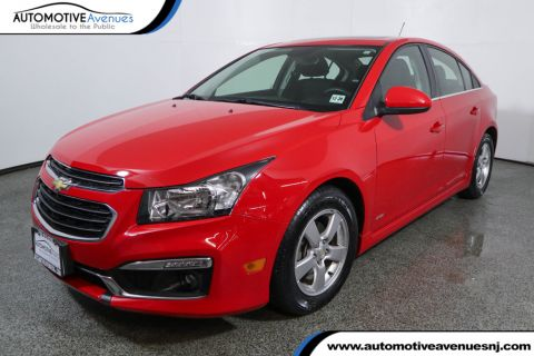 Pre-Owned 2015 Chevrolet CRUZE 4dr Sedan 1LT with Sun & Sound, Enhanced Safety, Tech & RS Pkgs