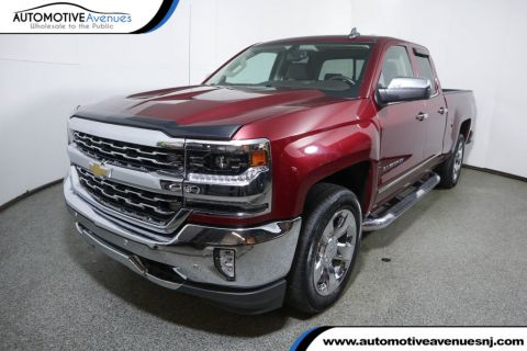 "Pre-Owned 2016 Chevrolet Silverado 1500 4WD Double Cab 143.5"" LTZ w/1LZ w/ Plus Package & 20 Inch Wheels"