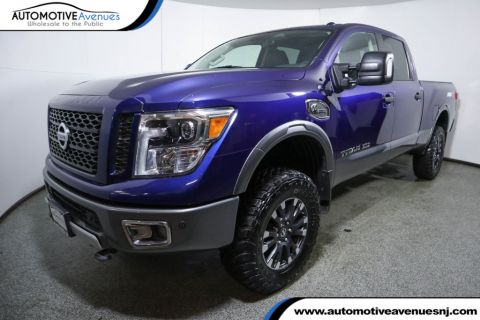 Pre-Owned 2016 Nissan Titan XD 4WD Crew Cab PRO-4X Diesel w/ Utility & Audio Package