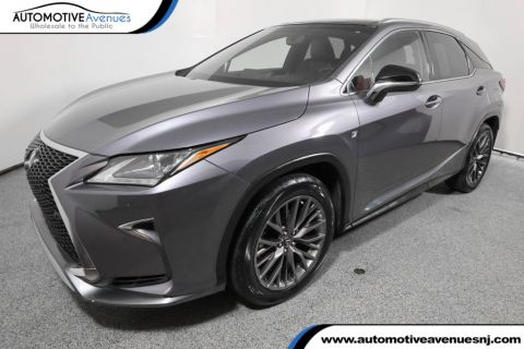 Pre-Owned 2016 Lexus RX 350 AWD 4dr F Sport with Navigation and Panoramic Sunroof
