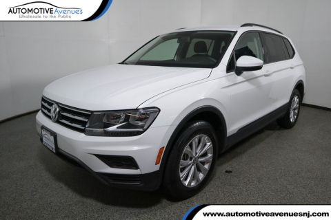 2018 Volkswagen Tiguan 2.0T S FWD with Third Row Seating Front Wheel Drive SUV