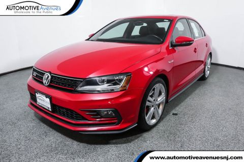 Pre-Owned 2017 Volkswagen Jetta GLI with 6 Speed Manual
