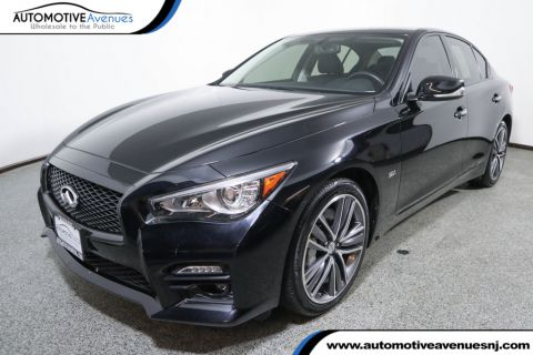 Pre-Owned 2016 INFINITI Q50 4dr Sedan 3.0t Sport AWD w/ Premium Plus Package