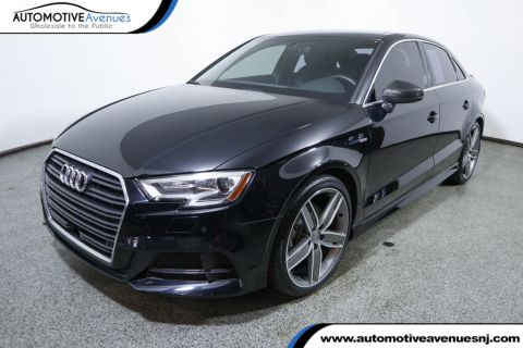 Pre-Owned 2017 Audi A3 Sedan 2.0 TFSI Premium Plus FWD w/ Sport & Carbon Fiber Packages