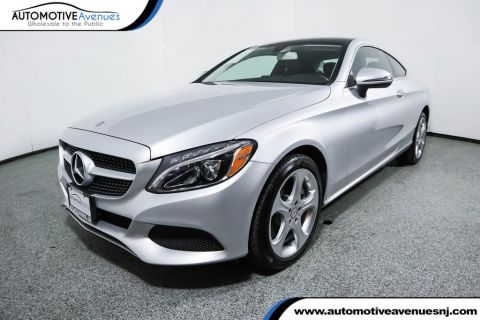 Pre-Owned 2017 Mercedes-Benz C-Class C 300 4MATIC® Coupe with Premium I Package