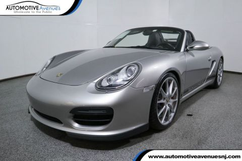 2011 Porsche Boxster 2dr Roadster Spyder Rear Wheel Drive Convertible