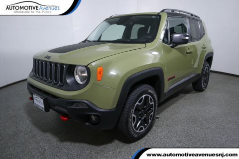Pre-Owned 2015 Jeep Renegade 4WD 4dr Trailhawk