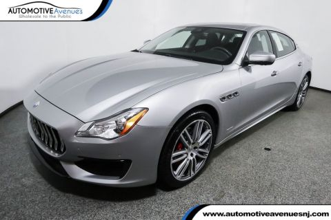 2017 Maserati Quattroporte S GranSport 3.0L Rear Wheel Drive Sedan